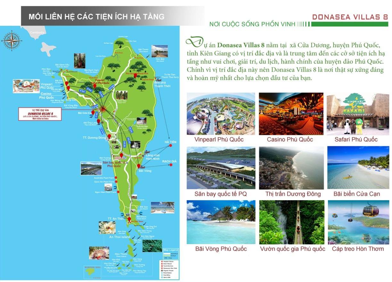 T n n ph qu c donasea villas 8 c ch d ng ng 4km for Donasea villas 7
