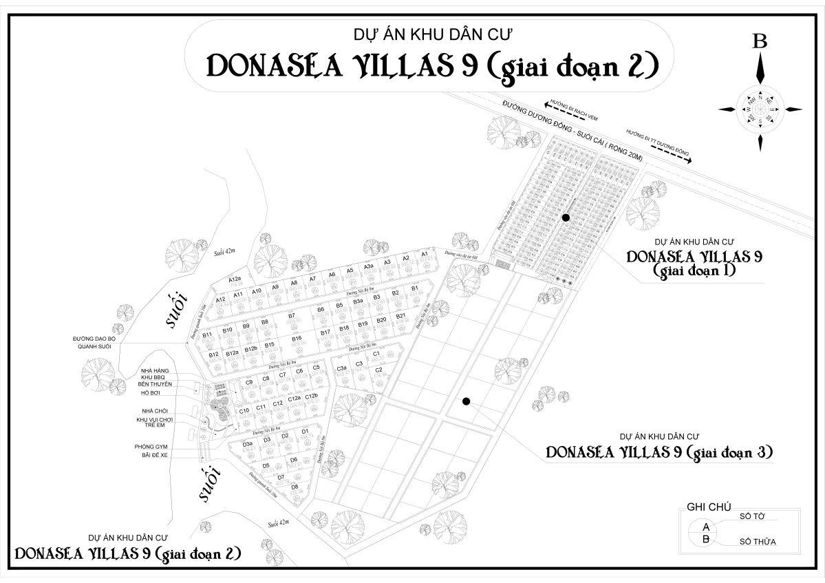 T n n ph qu c donasea villas 9 c ch khu th c a for Donasea villas 7