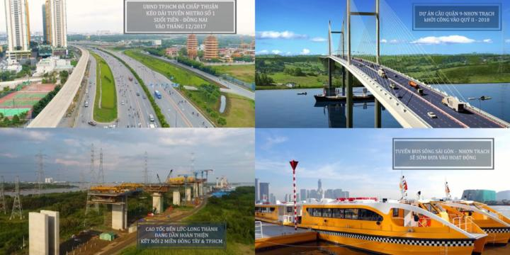 10 hạ tầng giao thông giúp đất Nhơn Trạch bứt phá năm 2019